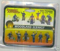 Woodland Scenic Accents A1847 Train Personnel HO
