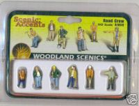 Woodland Scenic Accents A1850 Road Crew HO