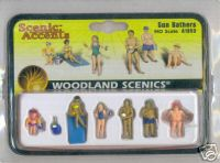 Woodland Scenic Accents A1853 Sun Bathers HO