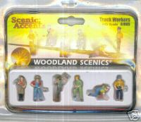 Woodland Scenic Accents A1865 Track Workers HO