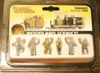 Woodland Scenic Accents A1866 Engineers HO