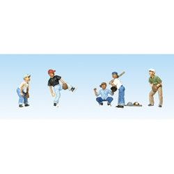 Woodland Scenic Accents A1869 HO Baseball Players I