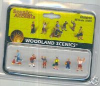 Woodland Scenic Accents A1891 Children HO