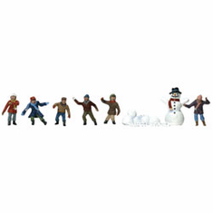 Woodland Scenic Accents A1894 HO Snowball Fight