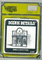 Woodland Scenic Scenics D220 Detail Daniels Outfitters