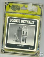 Woodland Scenic Scenics D221 Detail Pharmacy