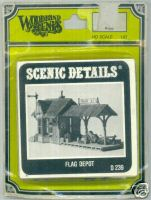 Woodland Scenic Scenics D239 Detail Flag Depot
