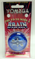 Yomega Brain Yo-Yo Blue with clear center