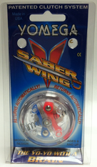 Yomega Saber Wing Yo-Yo Clear with Clear Center