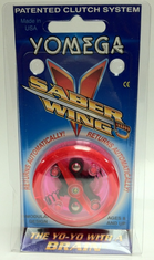 Yomega Saber Wing Yo-Yo fluorescent RED and clear