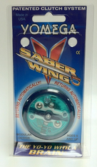 Yomega Saber Wing Yo-Yo Green with Clear center