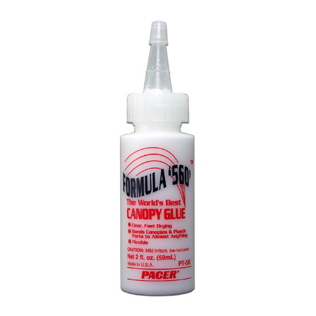 ZAP Formula 560 Canopy Glue PT56 2 oz bottle