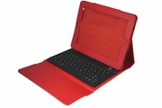 2COOL iPad Portfolio with Bluetooth Keyboard - Red