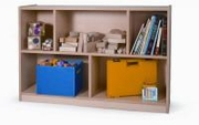 "30"" MAPLE MELAMINE STORAGE CABINET"