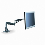 3M Desk-Mount Arm for Monitor, 18 x 14 x 5, Black