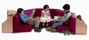 5 SECTION READING NOOK - INCLUDES SET OF 5 - WB8010 READING NOOKS