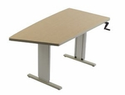 Accella Keel Sit-to-stand workstation