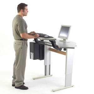 Ad As Infinity Corner Office Sit To Stand Workstation