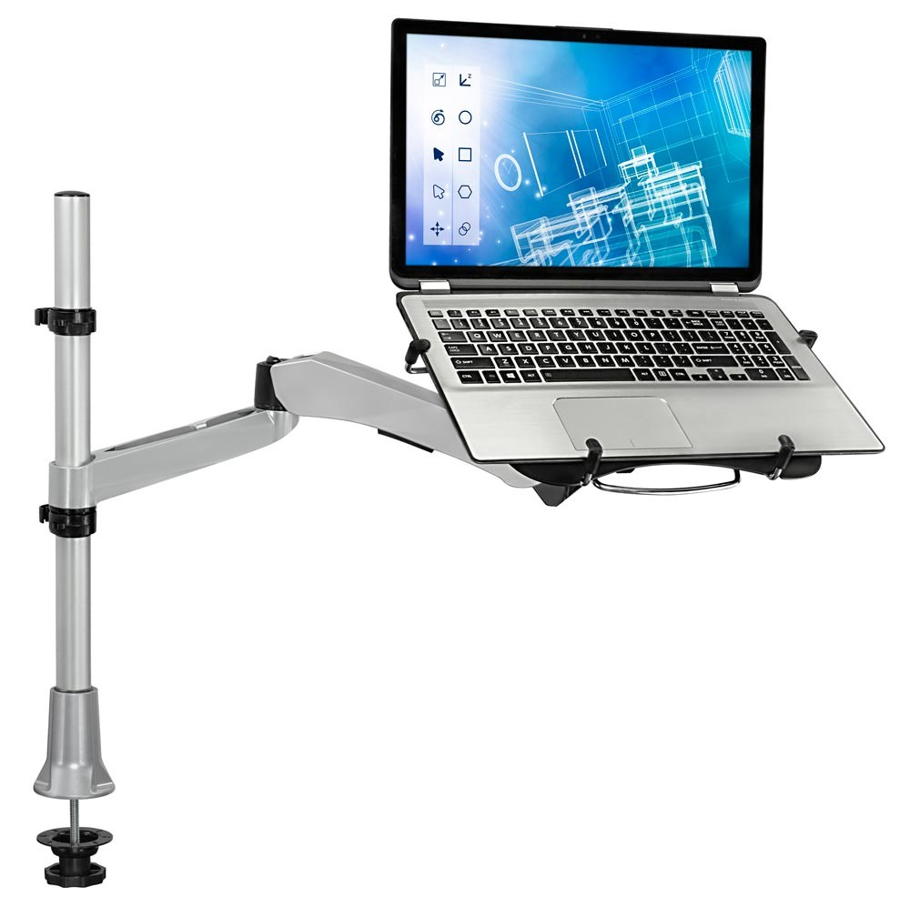 To Enlarge Adjule Height Desk Mount Stand For Laptops