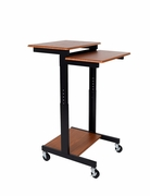 "Adjustable Height Presentation Workstation - <font color=""red""><b>Click Here to See All</b></font>"