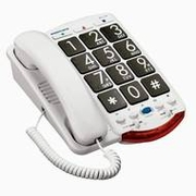 Ameriphone JV35 Amplified Phone for Vision & Hearing Impairment