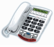 Ameriphone VCO Amplified Phone for Severe Hearing Loss/Deafness