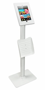 Anti-Theft Floorstanding Tablet/iPad Stand 9.7 Inches