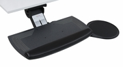 Aurora Keyboard Tray with Gel Pad and Swivel Mouse Tray