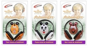 Califone 2810 Animal-themed Computer Mice & Headsets