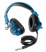 Califone 2924AVPS Stereo Headphones - Blueberry