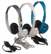 "Califone 3060AVS Multimedia Stereo Headphones<b><font color=""red"">See all colors</b></font>"