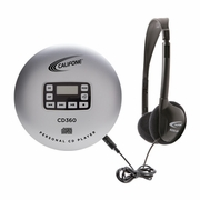 Califone Personal CD player with Headphones