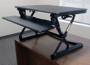 "CASSIOPEIA Desktop Sit-Stand Retrofit <b>Available in 27"" and 36""</b>"