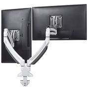 "Chief Kontour K1D220 Dynamic Desk Clamp Dual Monitor Mount <font color=""red""><b>See All Colors</b></font>"