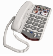 Clarity P400 Amplified Photo Phone for Picture Perfect Dialing