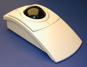 Clearly Superior Technologies PC-Trac Ergonomic Trackball Mouse- Beige