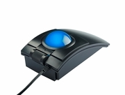 "L-Trac Glow Backlit Laser Trackball<br><font color=""red"">Blue or Red Ball</font>"