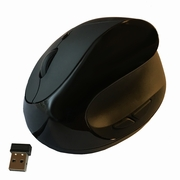Comfi II Wireless Ergonomic Computer Mouse in <b>Black or White</b>