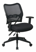 Deluxe Chair with Air Grid Back and Mesh Seat