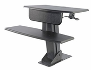 "Desk Mounted Sit To Stand <font color=""red"">See all colors</font>"