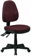 Dual Function Ergonomic Chair with Back Height Adjustment