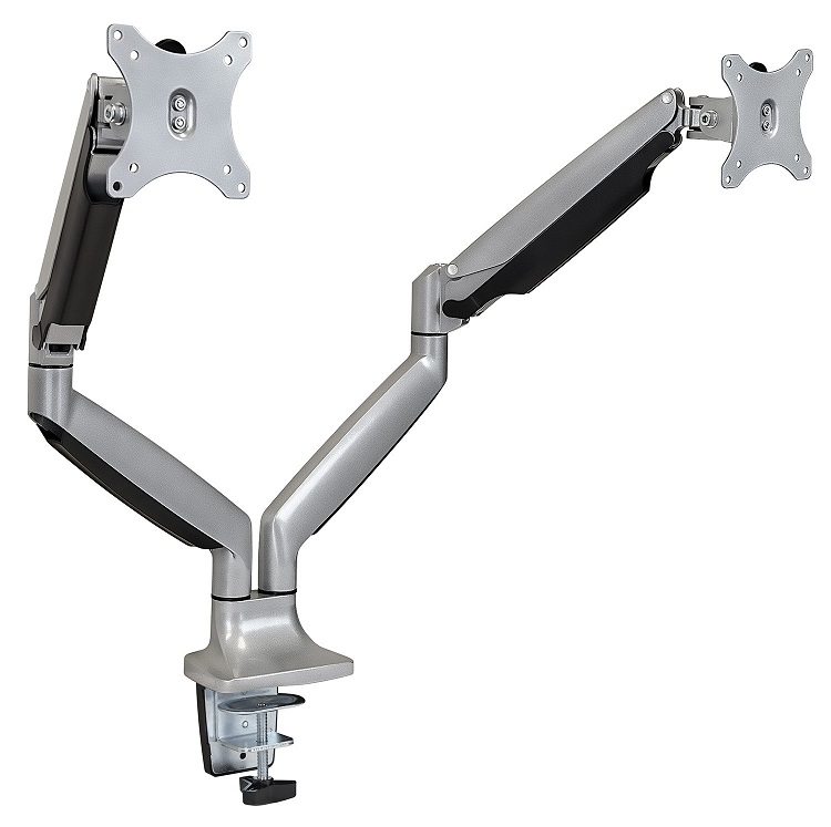 To Enlarge Dual Monitor Desk Mount 32 Inch Screens