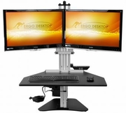 Electric Kangaroo Elite Sit and Stand Workstation