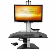 Electric Kangaroo Pro Sit and Stand Workstation