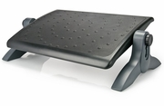 Height Adjustable Ergo Deluxe Footrest with Rubber Padding
