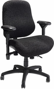 "Petite Ergonomic High Back Task Chair with Contoured Seat <font color=""red"">See all Styles</font>"