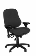 "Ergonomic High Back Task Chair with Contoured Seat <font color=""red"">See all Styles</font>"