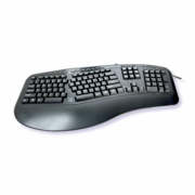 Ergonomic Split Key Keyboard Wired - TAA Compliant