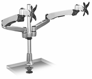 Extra-Tall Dual Spring Arm Monitor Desk Mount up to 27""