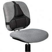 Fellowes Professional Series Back Support, Memory Foam Cushion, Black
